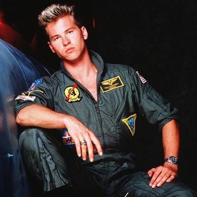 """""""Top Gun"""" filminin unutulmaz yakışıklısı Val Kilmer, 80'lerde işte böyle görünüyordu."""